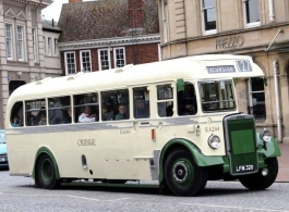 Vintage bus for weddings in Weston Super Mare